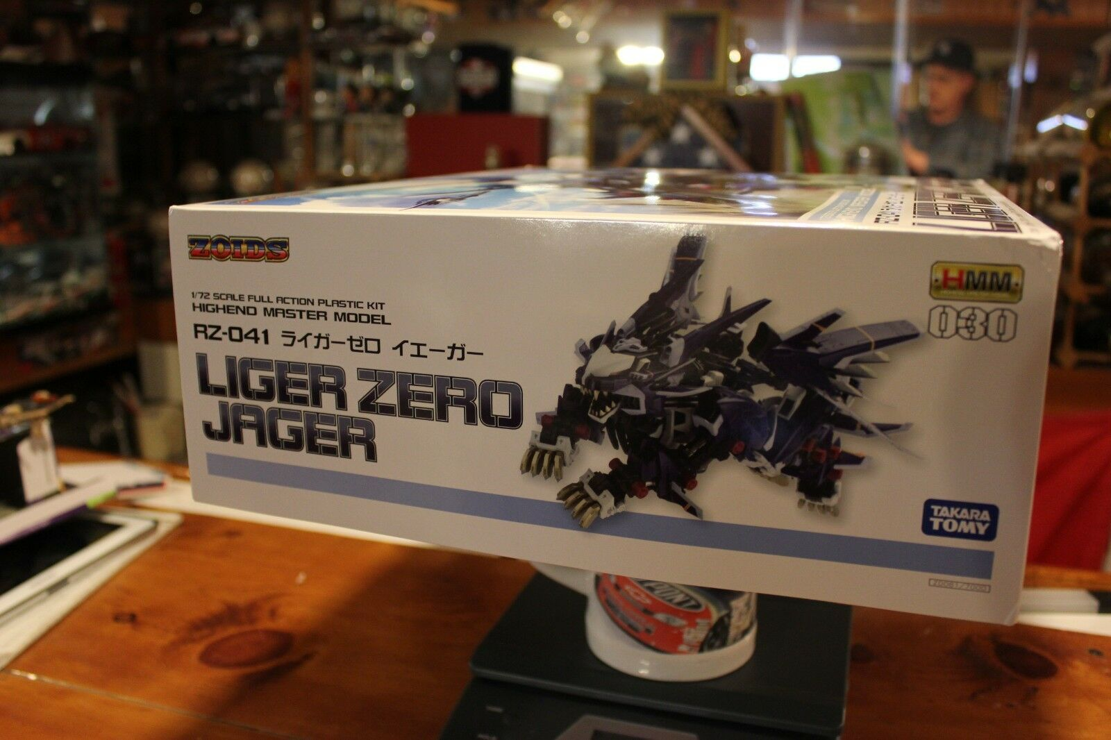 Zoids HMM 030 RZ-041 Liger Zero Box Jager Mint in Box Zero cc6071