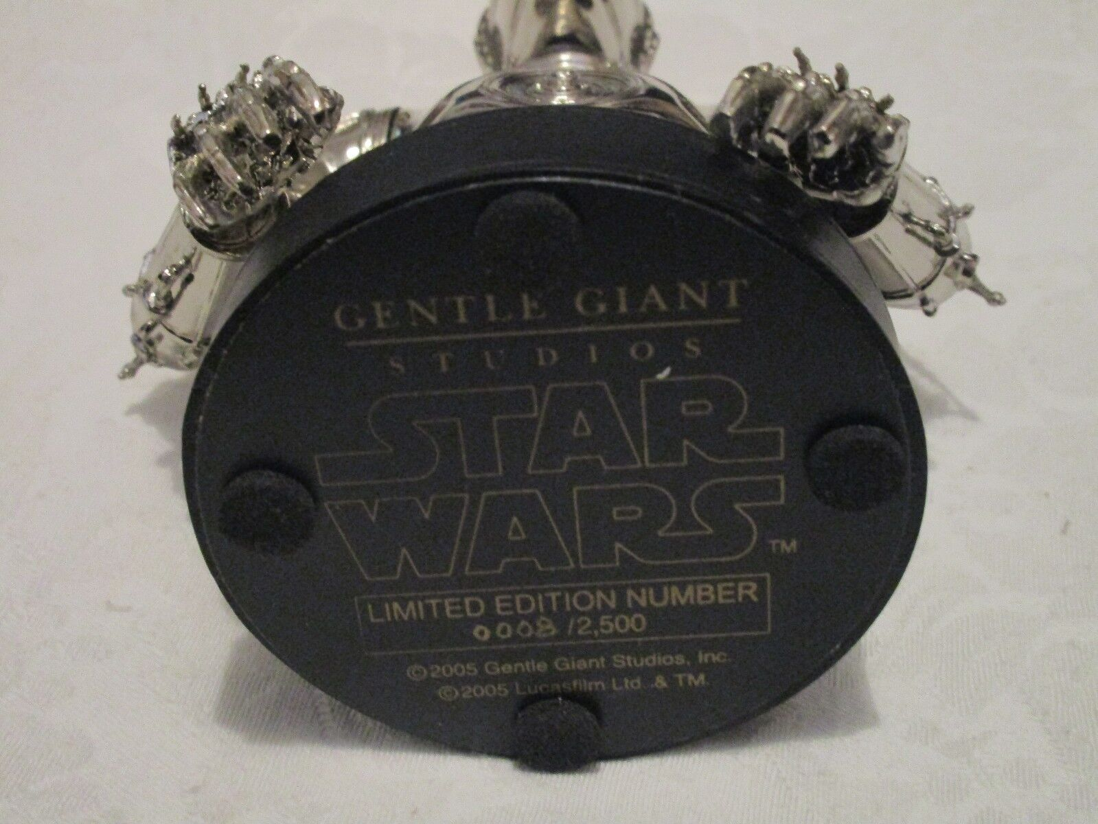 Gentle Gentle Gentle Giant Star Wars C-3PO Chrome Bust  2500 0d4636