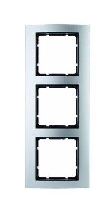 Berker Rahmen 3fach aluminium matt Metall Aluminium - 10133004 | Gewinnen Sie hoch geschätzt
