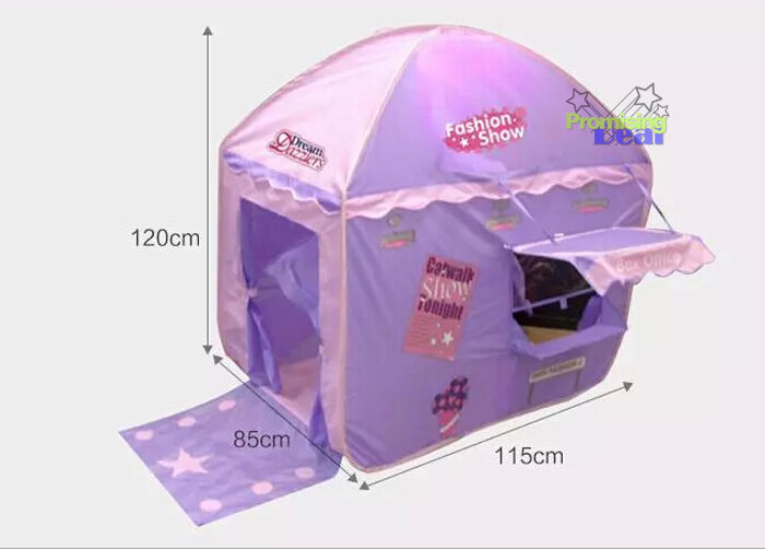 2019 Hot Ultralarge Ultralarge Ultralarge Princess Purple Kids Tent Outdoor Toy Play Tents Game House 90722f