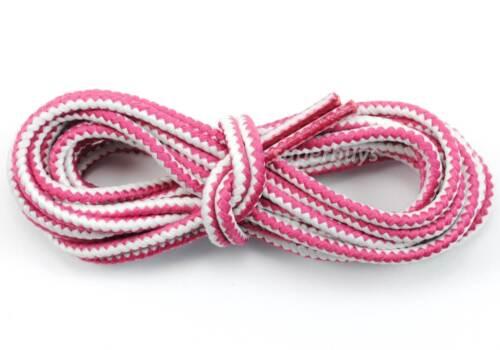 "White Pink 120cm Long Hiking Trekking Shoe Work Boot Laces Trek Hike 48/"" Inch"