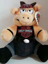 Harley Davidson Motorcycle Hog Plush Biker 10 Inch Stuffed Valentine Gift 1993