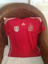 Spain FIFA 2010 World Champions  Adidas Soccer/futbol Jersey Size L youth