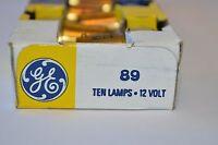 Box Of 10 Ge 89 Miniature Lamp - 12 Volt