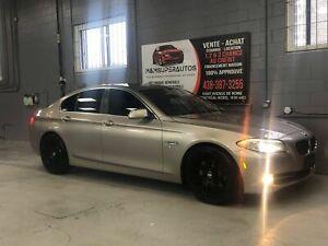 2011 BMW Série 5 **1,2&3 CHANCES & FINANCEMENT MAISON **