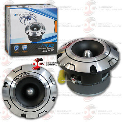 "BRAND NEW SOUNDSTREAM 1-INCH 1"" CAR PRO AUDIO PRO TWEETER 70 WATTS MAX"