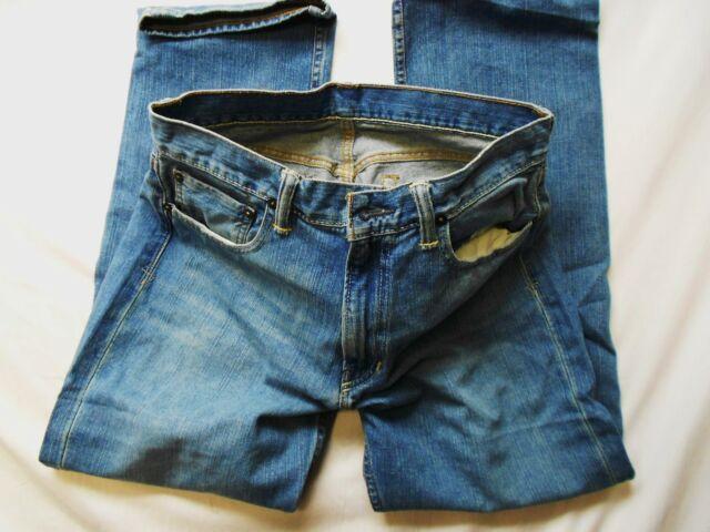 NEW Polo Ralph Lauren Mens Classic Fit 867 Relaxed Medium Denim Jeans 36 X 34