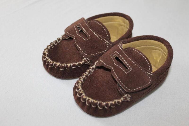 Baby Schuhe Mocassins Echteleder Gr.18 Made In Italy Neu!!!