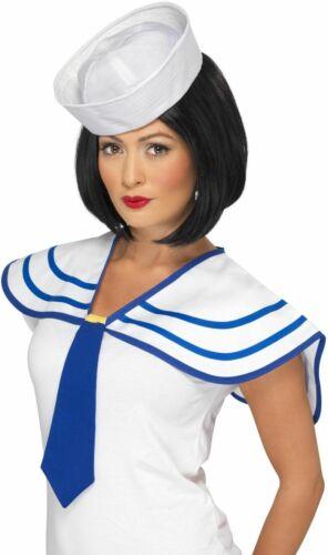 Sailor Navy Costumes Smiffy/'s Fancy Dress Accessories NEW Sailor Neck Tie
