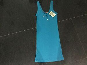 Damenunterwäsche Blue Cotton Night Dress Size Small With Juicy Logo Dauerhafte Modellierung GemäßIgt Nwt Juicy Couture New & Gen