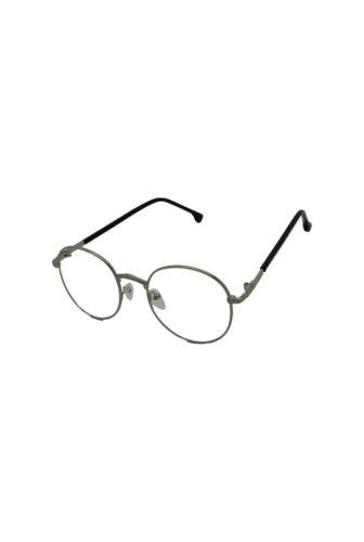 New Round Oval Vintage di argento Geek Lens nero Style Oro Retro Unisex Occhiali canna Nerd fucile moda Clear tIwtr