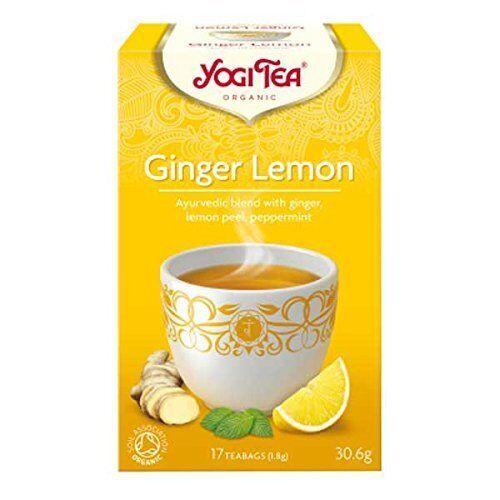 Yogi Herbal Organic Ayurvedic Tea - Ginger Lemon - Buy More Save More