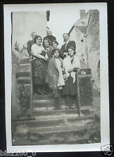 Pommard . photo ancienne . Le jour de la Paulée . 1932