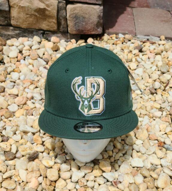 Milwaukee Bucks New Era 9FIFTY NBA City Edition Snapback Cap Hat Series 950