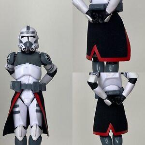 "Custom Star Wars Purge Trooper Kama For Clone Trooper Black Series 6"" 1/12"