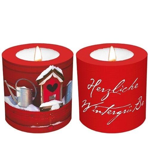 PartyLite TL GRATIS Eine Kerze für Dich Herzliche Wintergrüsse