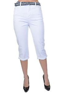 Gloria Vanderbilt Amanda Cuffed Capri Pale Sprig, 18