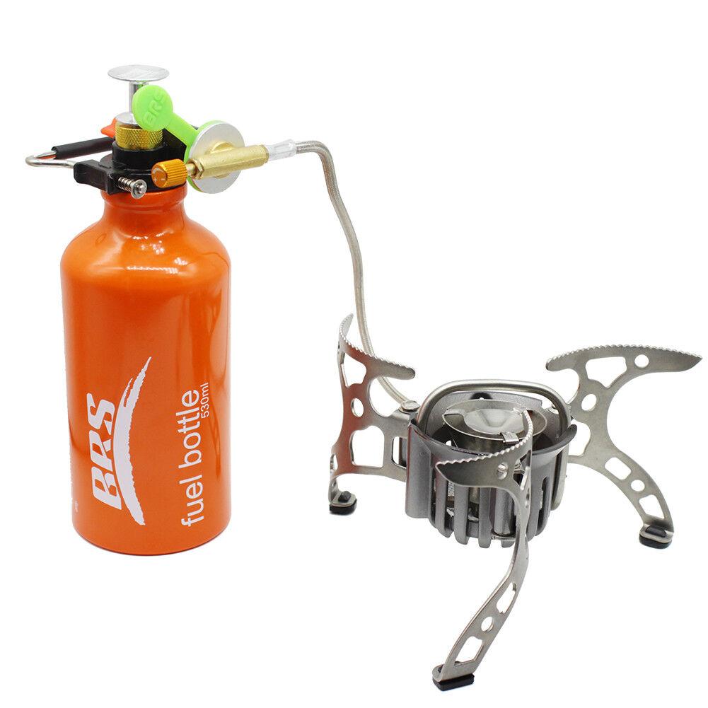 BRS-8 Öl   Gas Multi-Use-Brennstoff Campingkocher Camping Kochofen Portable