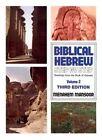 Biblical Hebrew: Step / Step 2 by M. Mansoor (Paperback, 1984)