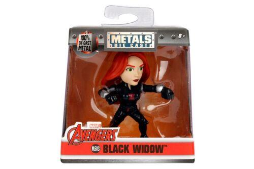 "Jada Marvel Avengers 2.5/"" M503 Black Widow"