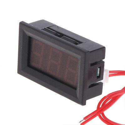 2 Wire AC 30V-500V LED Voltmeter Voltage Meter Monitor Tester For 110V 220V 380V