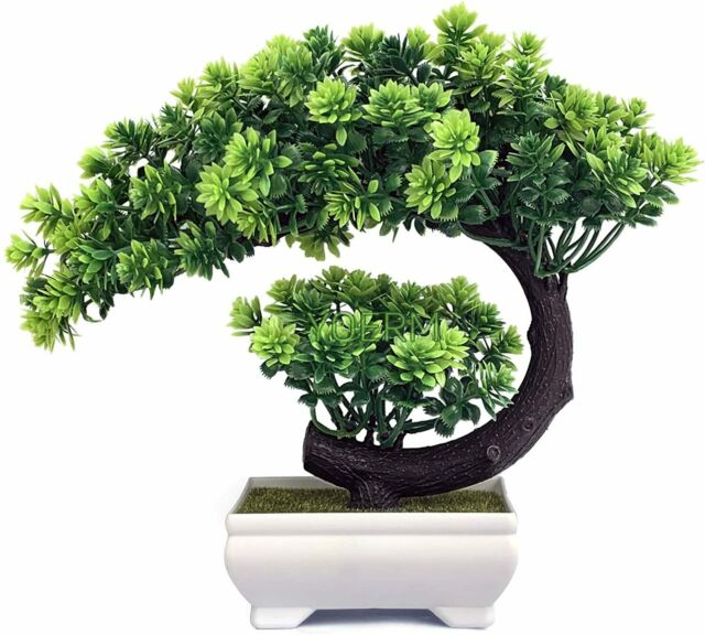 Yoerm Small Fake Plants Artificial Zen Bonsai Tree For Home Office Indoor Decor For Sale Online