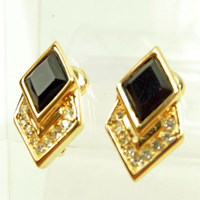 Dior Earrings gold Woman Authentic Used Y5830