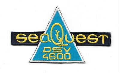 "SeaQuest TV Show DSV 4600 Chest Logo 4 1//2/"" Wide Embroidered Patch"