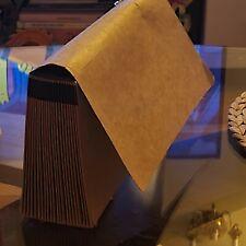 Vintage Portable File Hanging Folder Box Organizer Cabinet Filling Handle Usa