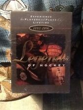 LEGENDS OF HOCKEY 1893- 1996 COMPLETE UNOPENED SEALED 5 VHS SET