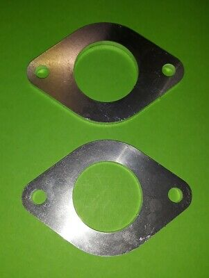Dellorto DRLA 36 40 Top Spacer Plate For Fitting Air Cleaner VW Twin Carb Billet