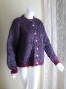 Icelandic-Design-Sz-M-Hand-Knit-78-Mohair-Very-Furry-Fluffy-Beautiful-Sweater