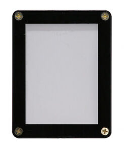Ultra-Pro-Specialty-Holders-1-Card-Screwdown-Black-Frame-NEW-accessory