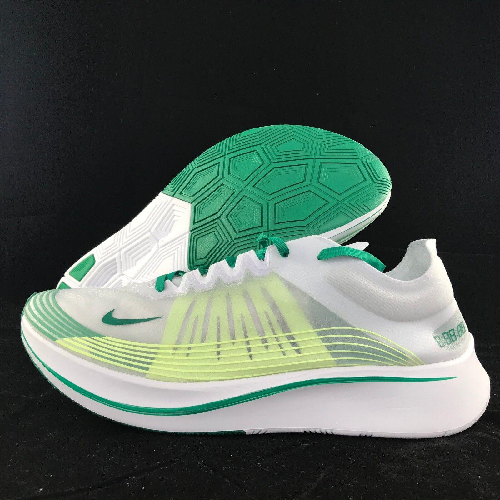 Nike Zoom Fly SP Green Hong Kong White Lucid Green SP Yellow AJ9282-101 Men's 10.5-13 NEW df08c0