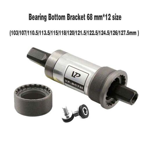 BC-73 68mm MTB Road Bike Sealed Cartridge Square Taper Bottom Bracket 12 Size UK
