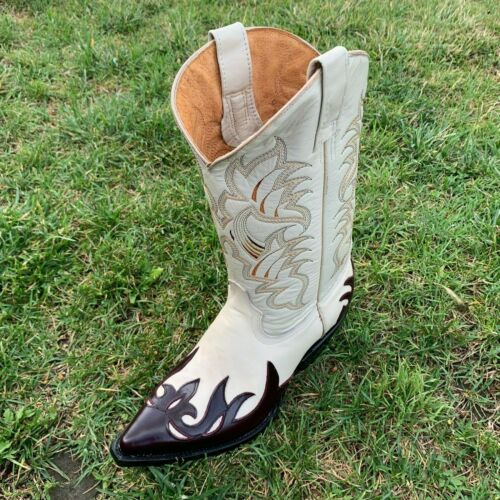 Genuine Leather Cowboy Boots Handmade by Carreta