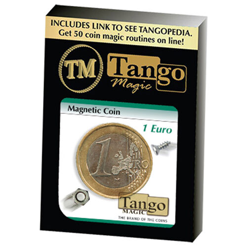 Moneta Magnetica - 1 Euro by Tango Magic - con con con video - Magia con Monete 8bb4db