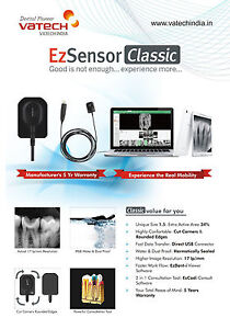 Details about VATECH Dental Imaging System RVG Intraoral Digital X-ray EZ  Classic SIZE 1 5