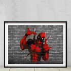 Deadpool high quality A2 poster printer on smooth art matt 250gsm photo paper