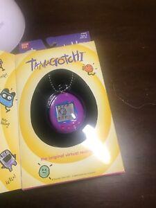 Tamagotchi Bandai Original Chibi Blue w// purple Bleu