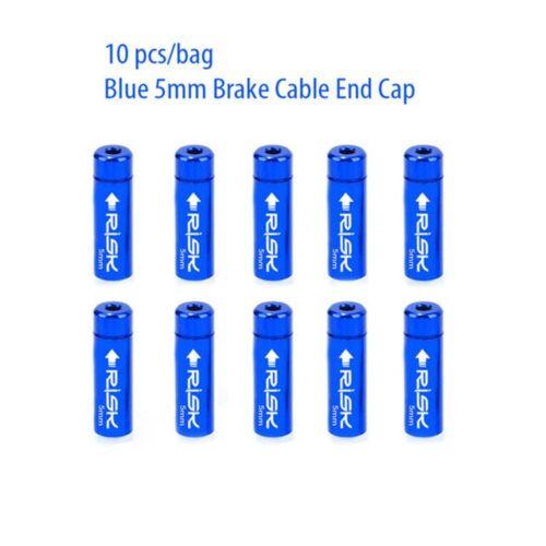Shift Brake Housing Ferrules Crimps Dust Cover Wire Tip Cable End Cap