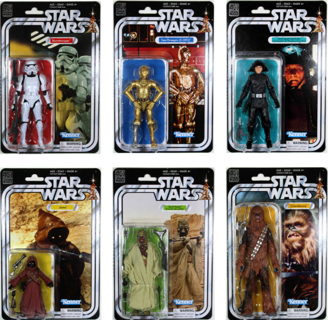 2007-2008 30th Anniversary//Saga Legends Action Figures Star Wars