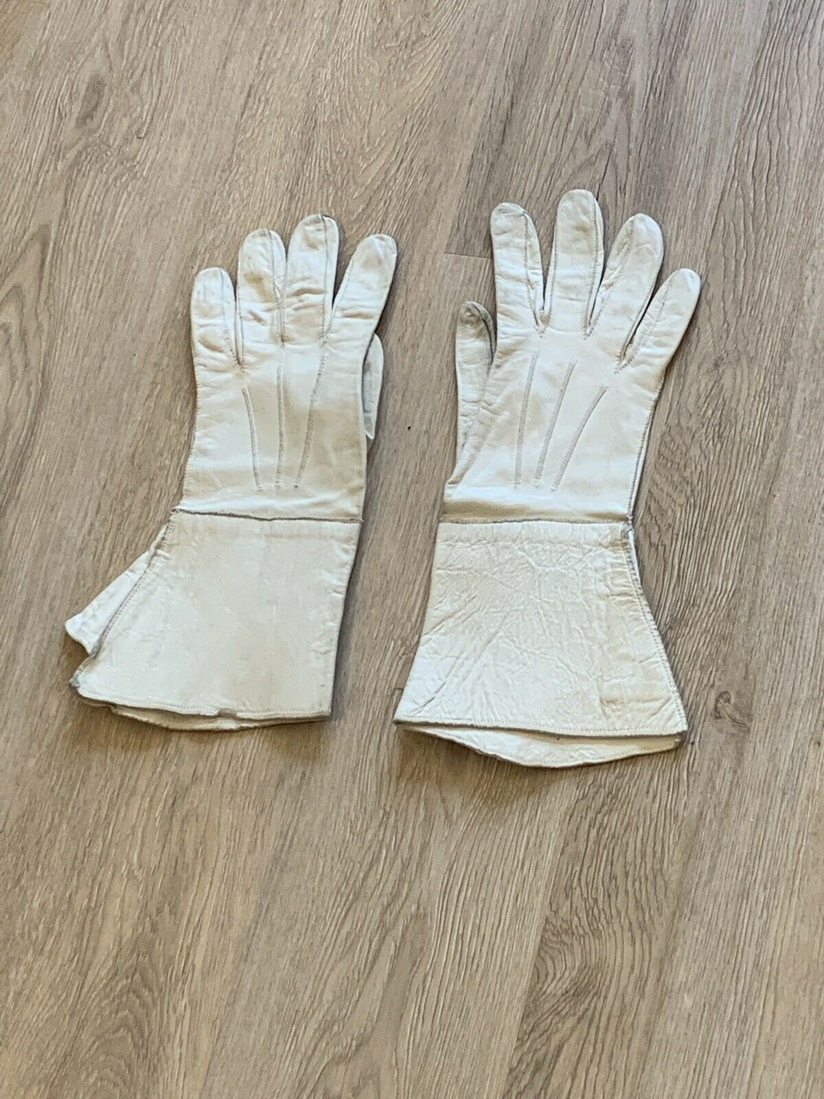 Vintage Early 20th Century French GAUNTLET GLOVES… - image 5