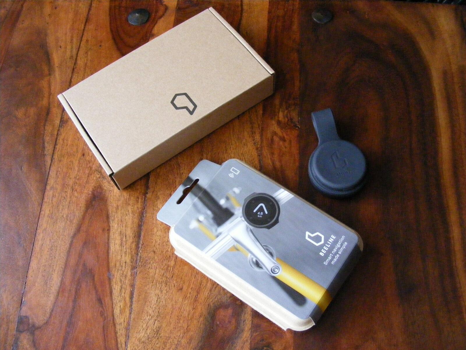 Nuevo En Caja gris Línea Recta GPS navegación inteligente GPS bici bicicleta ciclo Brújula
