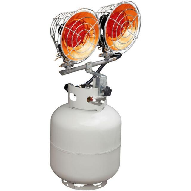 Double Tank Top Propane Heater Shop Garage Portable ...
