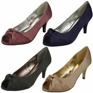 Anne-Michelle-Ladies-Knot-Detail-Peep-Toe-Court-Shoe