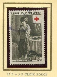 STAMP-TIMBRE-DE-FRANCE-OBLITERE-CROIX-ROUGE-N-1089-JEUNE-PAYSAN