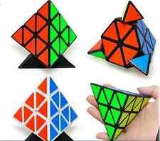 Smooth Triangle Magic Cube Twist Pyramid  Child Kid boy Girl Toy