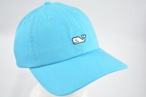 c019c4feda3 NEW Vineyard Vines Men s Blue Aqua Whale Logo Baseball Cap Hat ...