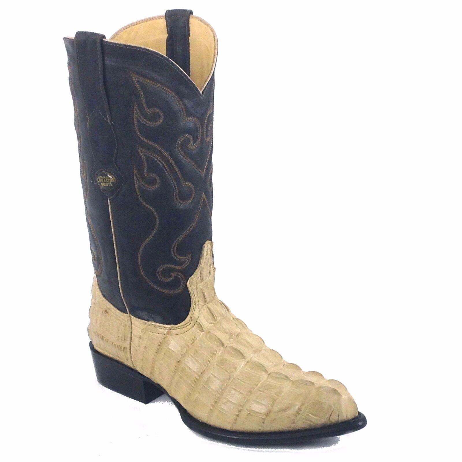 LOS ALTOS Oryx Cuero Caiman cola de impresión Imitación Caiman estilo Nº 3 99 01 11